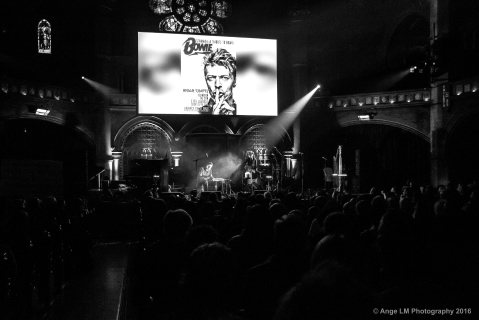 Raf and O Bowie Starman Celebration Union Chapel 2