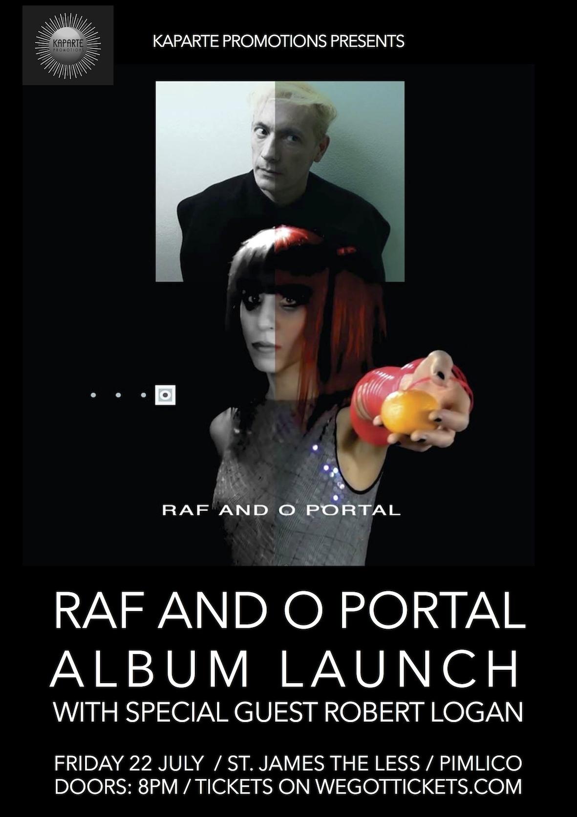 Raf and O - Portal Launch Flyer