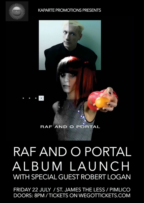 Raf and O - Portal Launch Flyer
